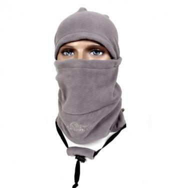 Mountain Trip MC-318 (Gray) 3 in 1 Magic Face Mask Head Hood Hat Neck Warm Winter Protector