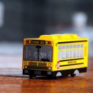 Old School Bus Model Yellow Clock Digital Alarm Never Drop Desk Dream Ring Children Gift