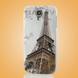 """Eiffel Tower"" Coloured Drawing Case for Samsung S4 I9500 IV Protective Shell Cover"