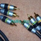 New 13 ft Monster Cable MV3CV-4M Component Audio Video Cable