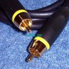 New 6 Feet Gold Plated RCA Composite Video Cable Male To Male RCA Cord