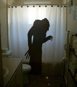 Unique Shower Curtain Horror Nosferatu A Symphony of 1922