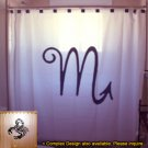 Unique Shower Curtain zodiac sign SCORPIO Scorpion astrology