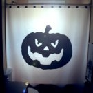 Halloween Unique Shower Curtain Jack O Lantern Pumpkin horror