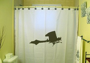 Unique Shower Curtain Airplane small air plane vintage craft