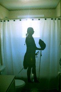 Unique Shower Curtain Nobleman Noble Man 18th Century sword