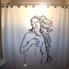 Unique Shower Curtain Birth of Venus Rising Sandro Botticelli