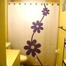 Flower Daisy Unique Shower Curtain Floral Design Marguerite