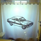 Unique Shower Curtain Car sports fast cool speed race classic
