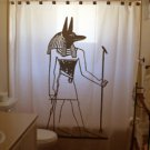 Unique Shower Curtain Anubis Egyptian God of Afterlife Inpu