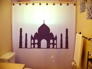 Unique Shower Curtain monument Taj Mahal Agra India love