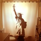 Unique Shower Curtain monument Statue of Liberty New York 1886
