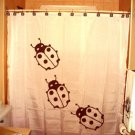Unique Shower Curtain animal Ladybugs Ladybird Coccinel insect