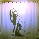 Unique Shower Curtain Sexy Nude Naked Female pin up Woman
