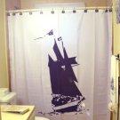Unique Shower Curtain Ship Boat sail sailing pirate nautical
