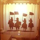 Unique Shower Curtain Four Horsemen horse man men apocalypse