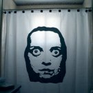 Unique Shower Curtain horror BugEyed Woman freaky scary fear