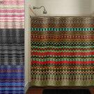 gypsy hippie art native tapestry bohemian shower curtain  bathroom   k