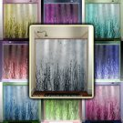 willow twigs tree branch grass sticks shower curtain  bathroom   kids
