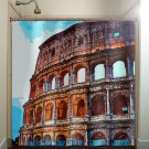 Coliseum Rome Italy Colosseum shower curtain  bathroom     win