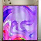 dali depression lavender lilac purple shower curtain  bathroom   kids