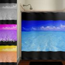 paradise ocean sea tropical beach house shower curtain  bathroom   kid
