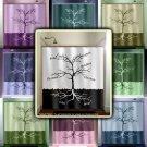 Custom Names root family tree shower curtain  bathroom     win