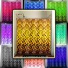 Gold Tapestry Damask Brown Yellow Golden shower curtain  bathroom   ki