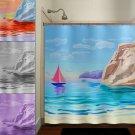 beach house sail boat yacht shower curtain  bathroom     windo