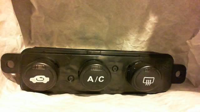 Honda Civic New >> Honda Civic Climate Control Buttons 2001 2002 2003 2004 ...