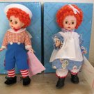 "Madame Alexander Doll Set ""Mop Top Billy"" and ""Mop Top Wendy"""