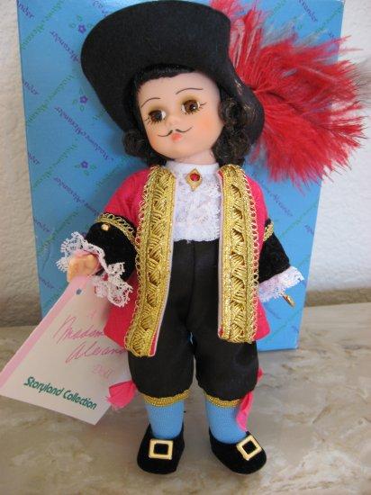 "Madame Alexander Doll ""Captain Hook"" from Peter Pan Series"
