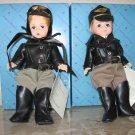 "Madame Alexander Doll Set ""Harley Wendy"" and ""Harley Billy"""