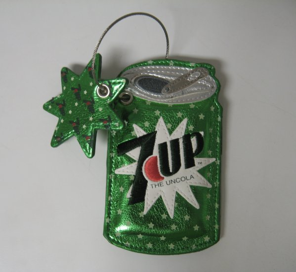 7 Up Can Luggage Tag