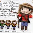 """Cowboy Bill"" String Doll, The Original String Doll Gang"
