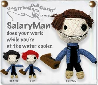 """Salary Man"" String Doll, The Original String Doll Gang"