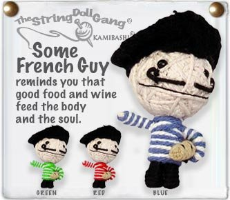 """""""Some French Guy"""" String Doll, The Original String Doll Gang"""