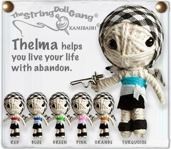 """Thelma"" String Doll, The Original String Doll Gang"