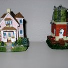 """""""Home of Artist Anabelle Phillips"""" Comes with Water Tower, Liberty Falls House Collection, AH152"""