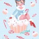 Cup Cake Cutie Christmas Card