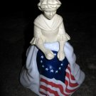Vintage Betsy Ross Avon Perfume Bottle, 1976, Great Condition