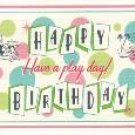 Happy Birthday Card ~ Play Date