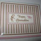 Graduation Card ~ Girl in Pink