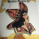 Mighty Magnet ~ Vintage Cow Girl Bust