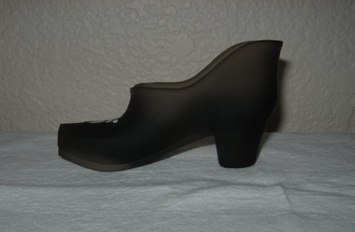 Westmoreland Frosted Brown Hand Painted Shoe
