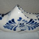 Ceramic Hand Painted Delft Blue Dutch Clog.