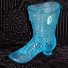 Mosser Blue Glass Boot.
