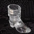 Mosser Clear Glass Cowboy Boot w/Spur.