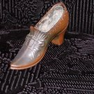 Circa 1920 Ladies Metal Pointed Toe Shoe