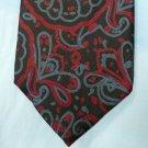 Retro Adolfo Neck Tie, Blue and Red Print
